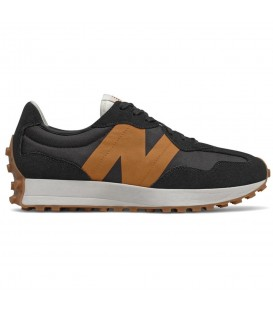 Zapatillas New Balance 327 para hombre en color negro disponible al mejor precio en tu tienda online de moda, accesorios y deportes www.chemasport.es