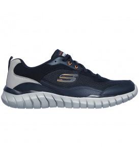 Zapatillas Skechers Overhaul para hombre en color azul marino disponible al mejor precio en tu tienda online de moda, accesorios y deportes www.chemasport.es