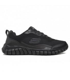 Zapatillas Skechers Overhaul para hombre en color negro disponible al mejor precio en tu tienda online de moda, accesorios y deportes www.chemasport.es