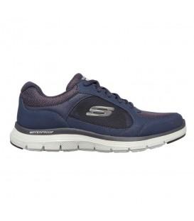 Skechers Flex Advantage 4.0 para hombre en color azul marino al mejor precio en tu tienda online de moda, accesorios y deportes www.chemasport.es