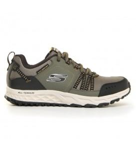 Zapatillas Skechers Escape Plan para hombre en color gris disponible al mejor precio en tu tienda online de moda, accesorios y deportes www.chemasport.es