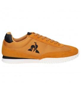 Zapatillas Le Coq Veloce para hombre en color mostaza disponible al mejor precio en tu tienda online de moda, accesorios y deportes www.chemasport.es