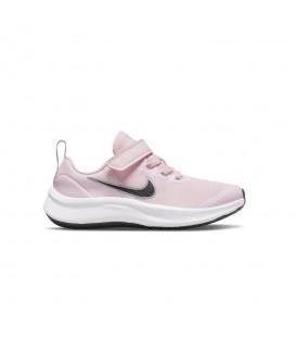 Zapatillas Nike Star Runner 3 para niño en color rosa disponible al mejor precio en tu tienda online de moda, accesorios y deportes www.chemasport.es