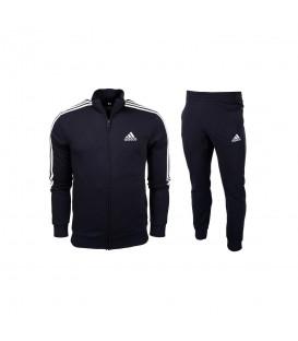 Chándal Adidas M 3s Ft Tt Ts para hombre en color azul marino disponible al mejor precio en tu tienda online de moda, accesorios y deportes www.chemasport.es