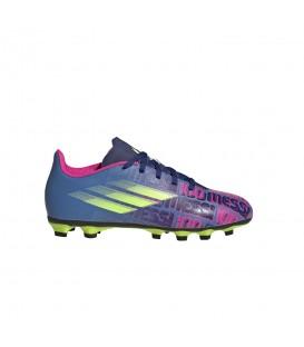 Zapatillas X Speedflow Messi 4 Fxg para niño en color azul disponible al mejor precio en tu tienda online de moda, accesorios y deportes www.chemasport.es