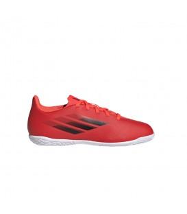 Zapatillas Adidas Speedflow 4IN para niño en color rojo disponible al mejor precio en tu tienda online de moda, accesorios y deportes www.chemasport.es