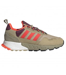 Zapatillas Adidas ZX 1K Boost para hombre en color beis disponible al mejor precio en tu tienda online de moda, accesorios y deportes www.chemasport.es