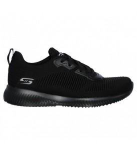 Zapatillas Skechers Bobs Squad para mujer en color negro disponible al mejor precio en tu tienda online de moda, accesorios y deportes www.chemasport.es