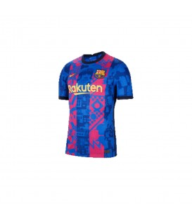 Camiseta Nike Barcelona 2021/22 Stadium para niño en color azul disponible al mejor precio en tu tienda online de moda y deportes www.chemasport.es