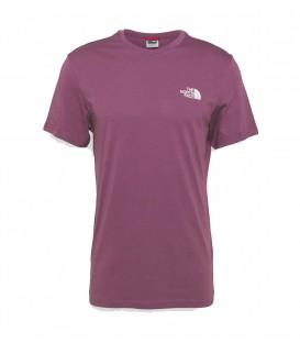 Camiseta The North Face Simple Dome Tee para hombre en color morado al mejor precio en tu tienda online de moda, accesorios y deportes www.chemasport.es