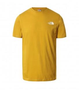 Camiseta The North Face Simple Dome Tee para hombre en color mostaza al mejor precio en tu tienda online de moda, accesorios y deportes www.chemasport.es