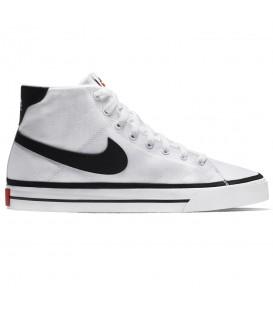 Zapatillas Nike Court Legacy MID unisex en color blanco disponible al mejor precio en tu tienda online de moda, accesorios y deportes www.chemasport.es