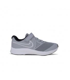 Zapatillas Nike Star Runner 2 Little Kids para niños de color gris al mejor precio en tu tienda online de deporte, accesorios y moda www.chemasport.es