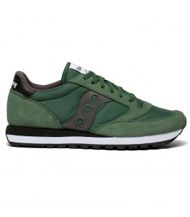 Zapatillas para hombre Saucony Jazz Originals de color verde oscuro al mejor precio en tu tienda online de deporte, accesorios y moda www.chemasport.es