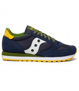 Zapatillas para hombre Saucony Jazz Originals de color azul marino al mejor precio en tu tienda online de deporte, accesorios y moda www.chemasport.es