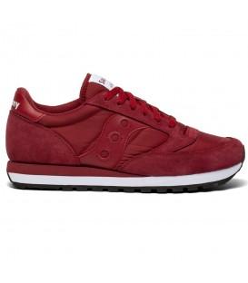 Zapatillas para hombre Saucony Jazz Originals de color granate al mejor precio en tu tienda online de deporte, accesorios y moda www.chemasport.es