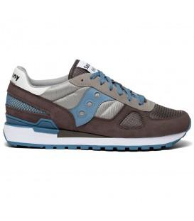 Zapatillas para hombre Saucony Shadow Originals de color marrón, azul y gris al mejor precio en tu tienda online de deporte y moda www.chemasport.es