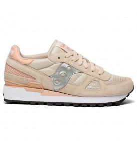 Zapatillas para mujer Saucony Shadow Originals de color beis al mejor precio en tu tienda online de deporte, accesorios y moda www.chemasport.es