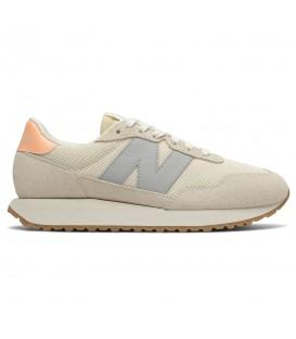 Zapatillas para hombre New Balance 237 en color beis al mejor precio en tu tienda online de deporte, accesorios y moda www.chemasport.es