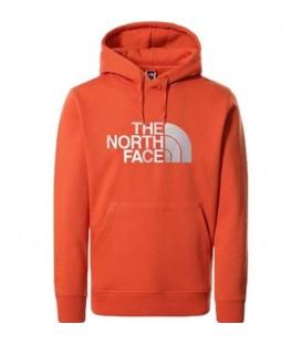 Sudadera The North Face Drew Peak para hombre en color naranja al mejor precio en tu tienda online de deporte, accesorios y moda www.chemasport.es