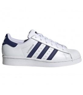 Zapatillas para mujer Adidas Superstar J de color blanco al mejor precio en tu tienda online de deporte, accesorios y moda www.chemasport.es