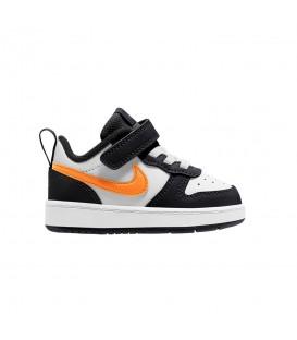 Zapatillas Nike Court Borough Low 2 para niños de color blanco y negro al mejor precio en tu tienda online de deporte, accesorios y moda www.chemasport.es