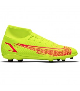 Zapatillas de fútbol para hombre Nike Mercurial Superfly 8 en color amarillo al mejor precio en tu tienda online de moda sportwear www.chemasport.es