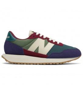 Zapatillas para mujer New Balance 237 en color verde al mejor precio en tu tienda online de deporte, accesorios y moda www.chemasport.es