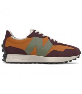 Zapatillas New Balance 327 para hombre en color marrón al mejor precio en tu tienda online de deporte, accesorios y moda www.chemasport.es