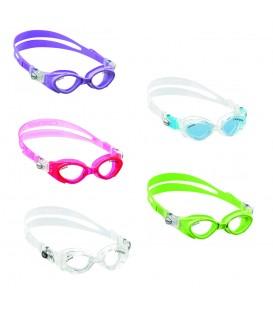 Gafas de piscina Cressi Crab Jr en varios colores disponibles al mejor precio en tu tienda online de natación www.chemasport.es