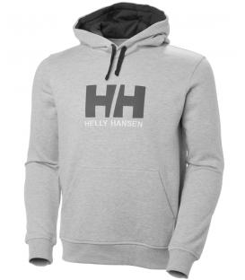 Sudadera para hombre Helly Hansen HH Logo Hoodie en color gris disponible al mejor precio en tu tienda online de natación www.chemasport.es
