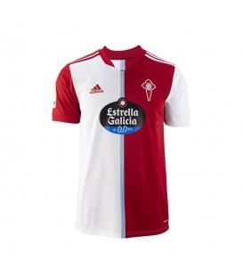 Camiseta Adidas Celta segunda equipación en color blanco y rojo disponible en chemasport.es