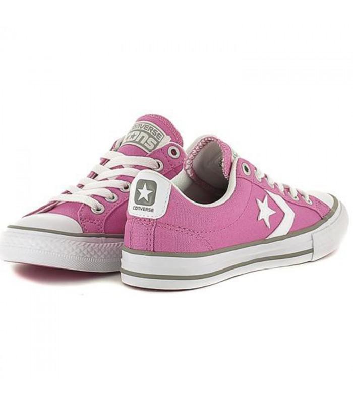 zapatilla converse niña rosas