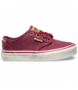 ZAPATILLAS VANS Y ATWOOD DELUXE (WASHED TWILL) GRANATE