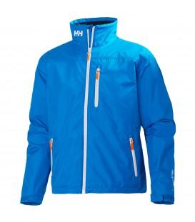 Cazadora Helly Hansen Crew Jacket barata en color azul. Si quieres comprar ropa y calzado Helly Hansen en Chema Sport encontrarás las mejores ofertas online