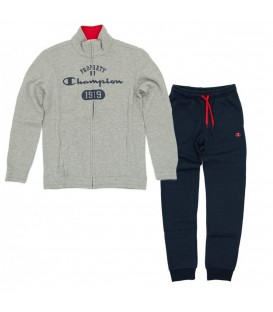 CHANDAL CHAMPION SWEATSUIT NIÑO GRIS