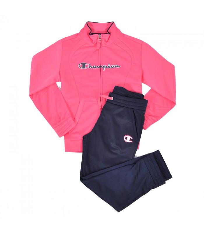 chandal psg negro y rosa