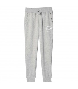 PANTALON ADIDAS ORIGINALS REGULAR CUFFED MUJER GRIS