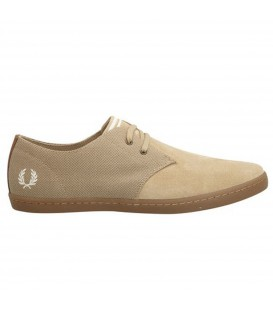 FRED PERRY BYRON LOW SUEDE ZAPATOS HOMBRE BEIGE B9027-938