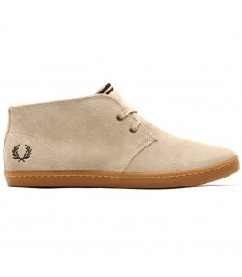 FRED PERRY BYRON MID SUEDE ZAPATOS HOMBRE BEIGE B7400-212