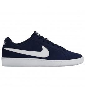NIKE COURT ROYALE SUEDE zapatillas hombre azul marino 819802-410