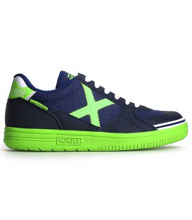 MUNICH G-3 KIDS zapatillas futbol sala niños azul 1510605