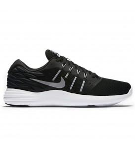 NIKE LUNARSTELOS zapatillas running hombre negro 844591-001