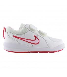 GIRLS'NIKE PICO 4 (PS) zapatillas niños blancas