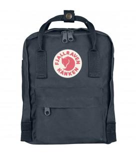 Comprar mochila Kanken Fjallraven en color gris oscuro tamaño mini en Chema Sport.