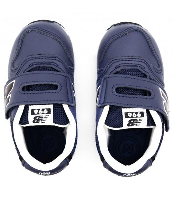 zapatillas new balance piel azul