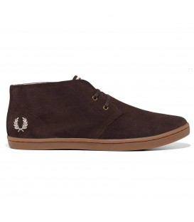 ZAPATOS FRED PERRY BYRON MID SUEDE