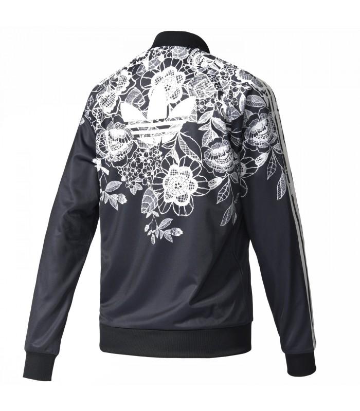 Conciliar la nieve Acerca de la configuración  chaqueta adidas estampado flores - 54% descuento - gigarobot.net