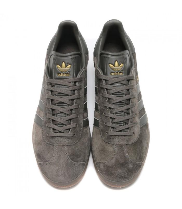 adidas gazelle calzado gris marron