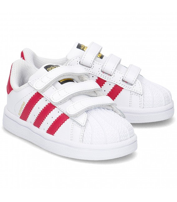 Foundation Velcro Superstar Baby Zapatillas Adidas ED9YHW2I